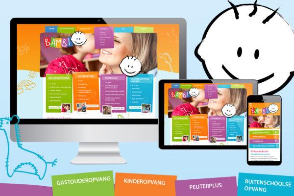 Kinderopvang Bambi | webdesign