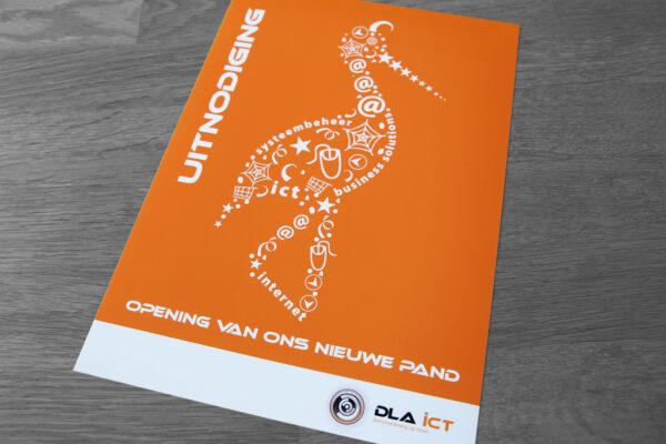 DLA ICT | uitnodiging nieuw pand