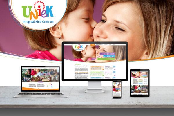 IKC Uniek | huisstijl, webdesign