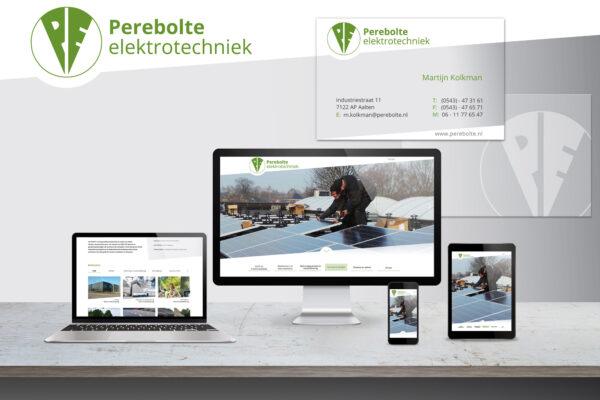 Perebolte | huisstijl, website