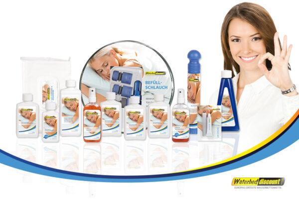 Waterbed Discount onderhoudsproducten