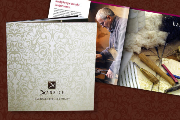 Xanrice | logo, brochure